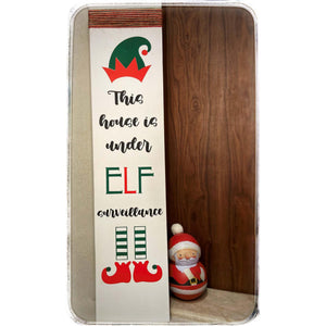 Christmas Elf Sign