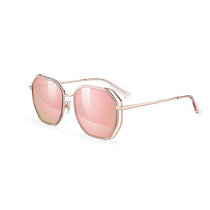 Helen Keller Sunglasses Women's Hexagonal Shape Sunglasses H8702C05