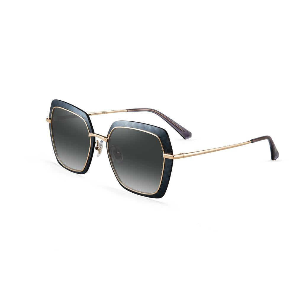 Helen Keller Sunglasses Women's Hexagonal Shape Sunglasses H8716P14