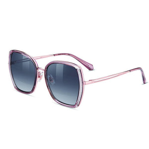 Helen Keller Sunglasses Women's Hexagonal Shape Sunglasses H8830N11R
