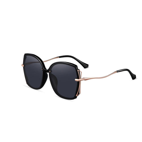 Helen Keller Sunglasses Women's Hexagonal Shape Sunglasses H8928H13