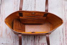 Load image into Gallery viewer, Copper & Chocolate MARJAN Tote Bag