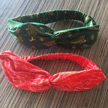 Load image into Gallery viewer, Christmas Twist Headband - Choose your fave!