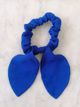 Load image into Gallery viewer, Bow Scrunchie - Electric Blue