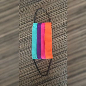 Rainbow Face Cover with pocket - Rayon