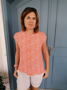 Classic T top - Orange Arrows