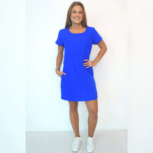 The Anywhere Dress - Royal Blue