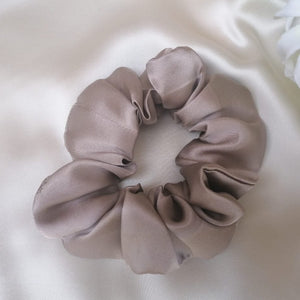 Pure Silk Scrunchie - Cappucino