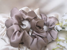 Load image into Gallery viewer, Pure Silk Scrunchie - Cappucino