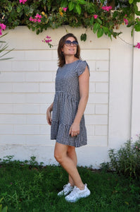 Adelaide Dress - Groovy Gingham