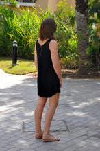 Load image into Gallery viewer, Sleeveless Shift Dress - Black
