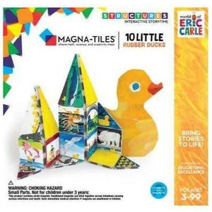 Magna-tiles By Eric Carle | 10 Little Rubber Ducks