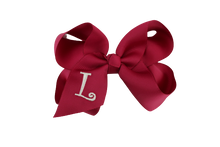 Load image into Gallery viewer, Monogrammed Bows M - Z