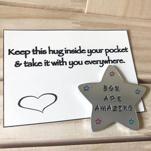 Pocket Hug - Large Star