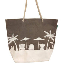 Load image into Gallery viewer, Silhouette Beach Bag