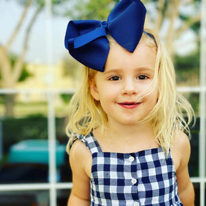 Mega Baby Headband - Midnight Navy