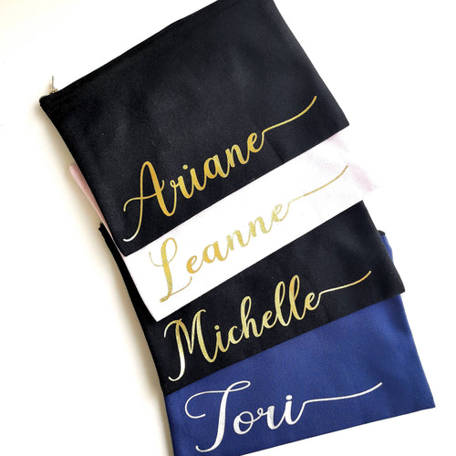 Multipurpose Pouches - Personalised