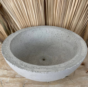 Cement Planter Bowl Medium