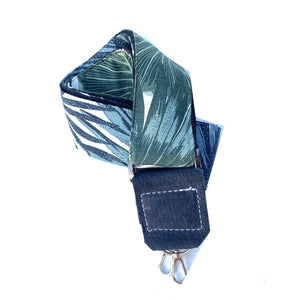 Jungle Leaf Print Strap for cameras, bags, carry cases etc