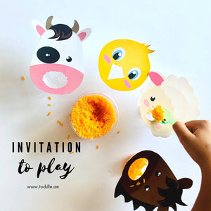 INVITATION TO PLAY BOX BY TODDLE (Ages 1 to 4 years)