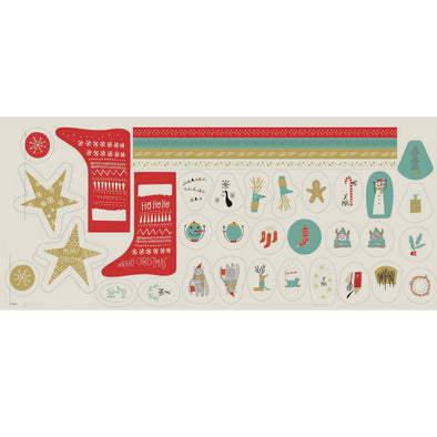 PANNELLO CANVAS XMAS DECO