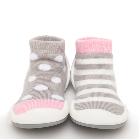 Dots & Stripes - Pink