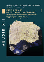 Jaromír Krejčí, Miroslav Verner, Vivienne Gae Callender (with contributions by Viktor Černý, Eugen Strouhal, Hana Vymazalová and Martina Žaloudková-Kujanová), Abusir XII, Minor tombs in the Royal Necropolis I (The Mastabas of Nebtyemneferes and Nakhtsare, Pyramid Complex Lepsius no. 24 and Tomb Complex Lepsius no. 25), Czech Institute of Egyptology, Prague 2008