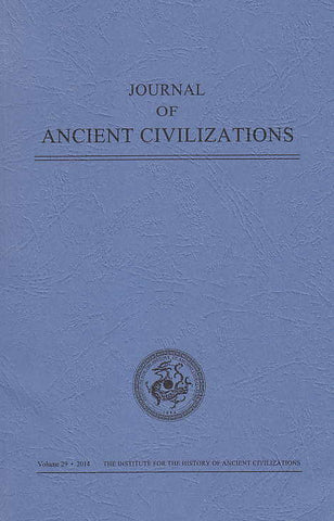Journal of Ancient Civilizations, Volume 29, 2014, IHAC 2014