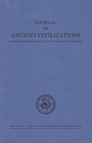 Journal of Ancient Civilizations, Volume 30, 2015, IHAC 2015