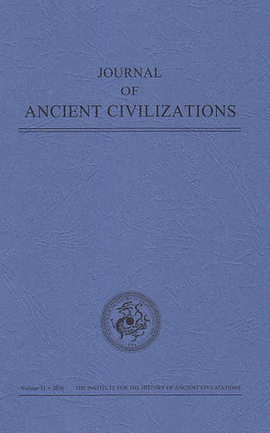 Journal of Ancient Civilizations, Volume 31, 2016, IHAC 2016