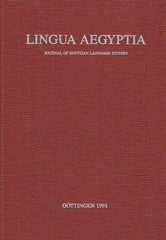 Antonio Loprieno (ed.), Proceedings of the Second International Conference on Egyptian Grammar (Crossroads II), Los Angeles, October 17-20, 1990, Lingua Aegyptia 1, Journal of Egyptian Language Studies, Gottingen 1991