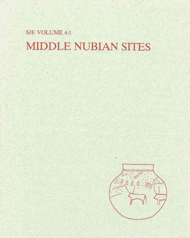 Torgny Save-Soderbergh (ed.), Middle Nubian Sites, The Scandinavian Joint Expedition to Sudanese Nubia Publications, vol. 4:1 Text, Scandinavian University Books 1989