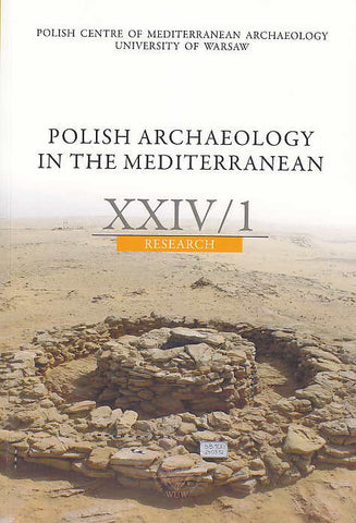 Polish Archaeology in the Mediterranean XXIV/1, Research, 2015