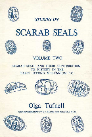 Olga Tuffnell, Studies on Scarab Seals, vol. II  (Part 1, Part 2), Scarab Seals and their Contribution to History in the Early Second Millenium B.C., Aris and Phillips 198