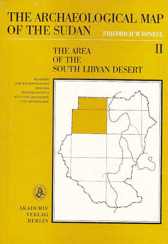 Friedrich W. Hinkel, The Archaeological Map of the Sudan, vol. 2, The Area of the South Libyan Desert, Akademie-Verlag, Berlin 1979