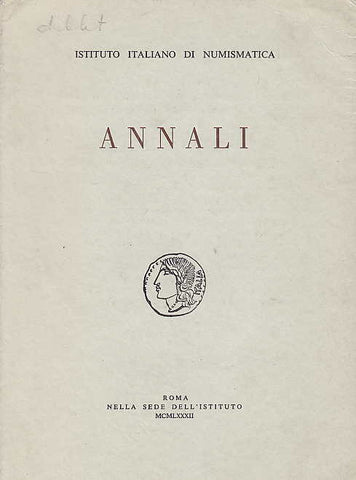 Annali, Instituto italiano di numismatica. Vol. 29, Roma 1982