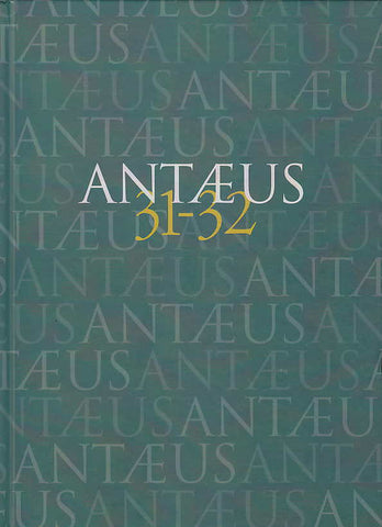 Antaeus, 31-32, Communicationes ex Instituto Archaeologico Academiae Scientiarum Hungaricae, 2010
