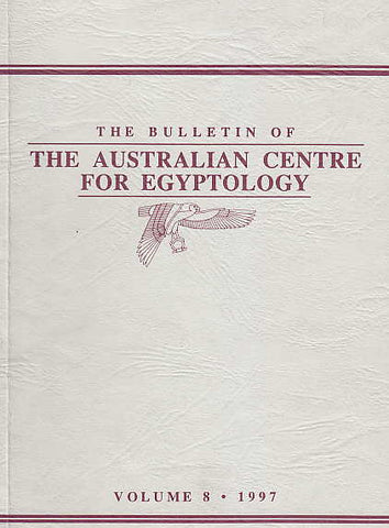 The Bulletin of the Australian Centre for Egyptology, vol. 8, 1997