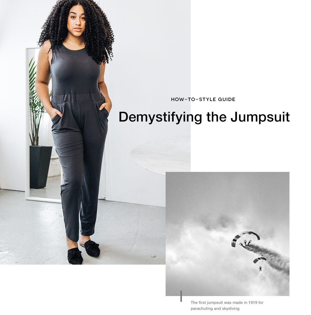 How To Wear The All Day Jumpsuit Encircled