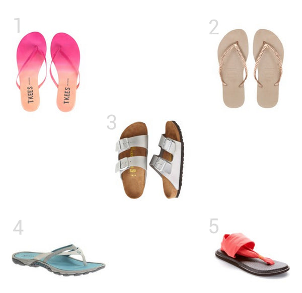 Top Travel Flip Flops.  Encircled creates versatile minimalist clothes with the everyday traveler in mind. Each piece is ethically made, out of sustainable and eco friendly materials.