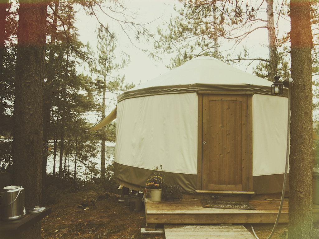 Glamping for the Everyday Traveler. Ethically made in Canada with sustainable and eco friendly materials.