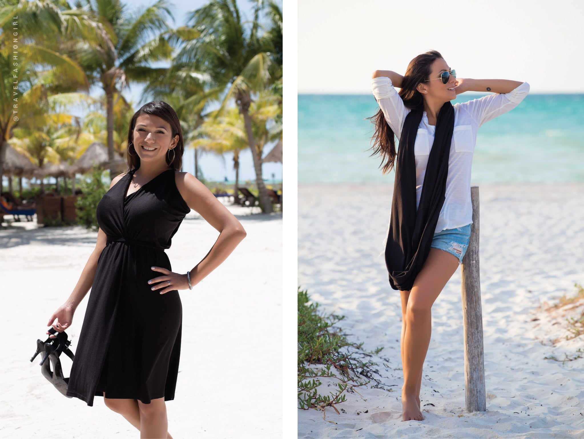 Encircled creates versatile minimalist clothes with the everyday traveler in mind. Each piece is Made in Canada, out of sustainable, and eco friendly materials.
