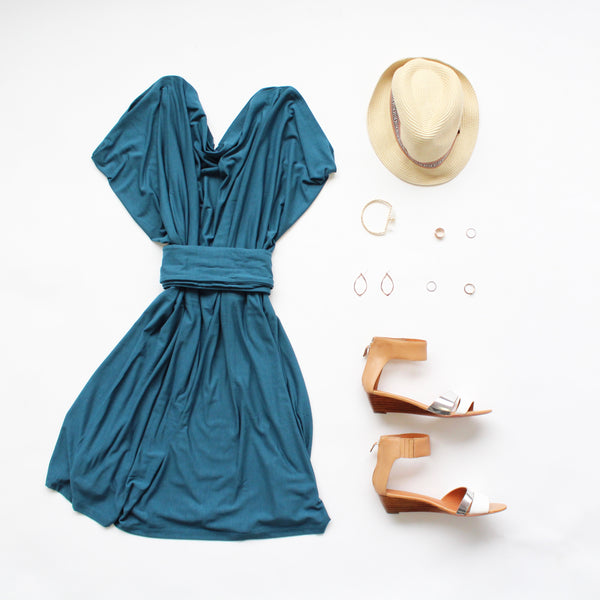 daytime beach dress for travel