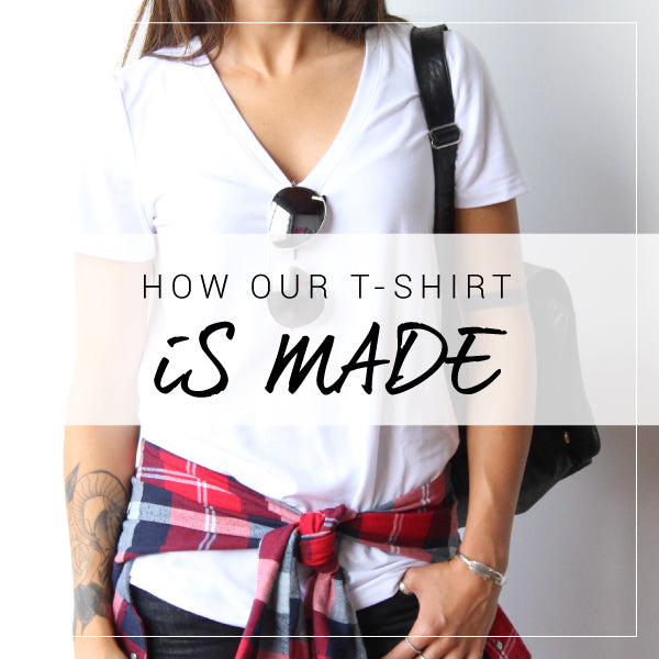 T-shirts for the Everyday Traveler. Ethically made in Canada with sustainable and eco friendly materials.