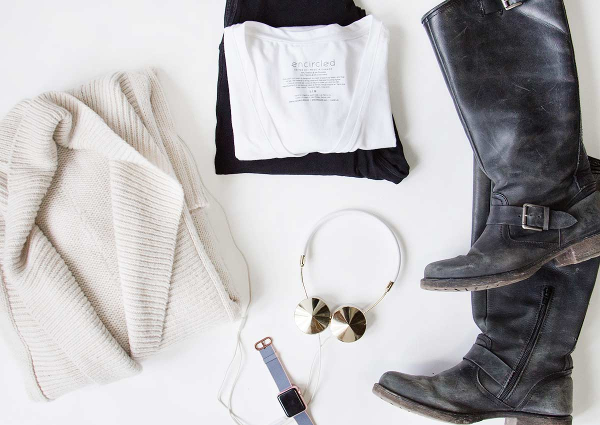 Travel Essentials. Encircled creates versatile minimalist clothes with the everyday traveler in mind. Each piece is Made in Canada, out of sustainable, and eco friendly materials.