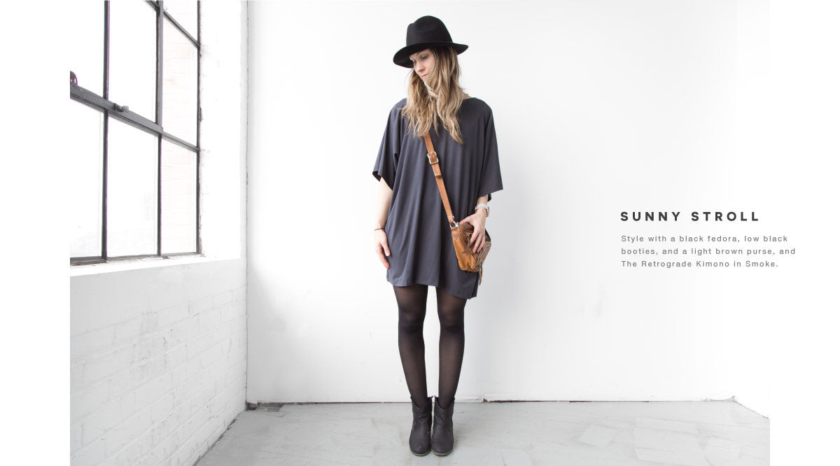 the retrograde kimono a comfortable casual day look