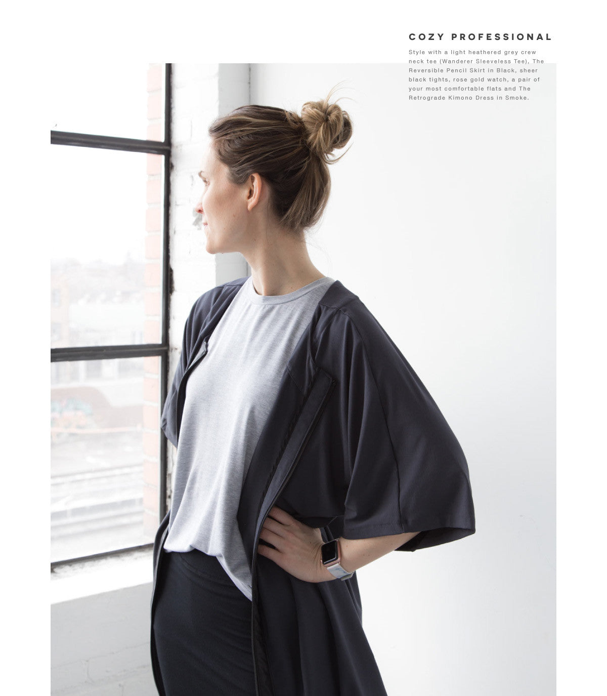 the retrograde kimono a comfortable cozy and professional look for the office