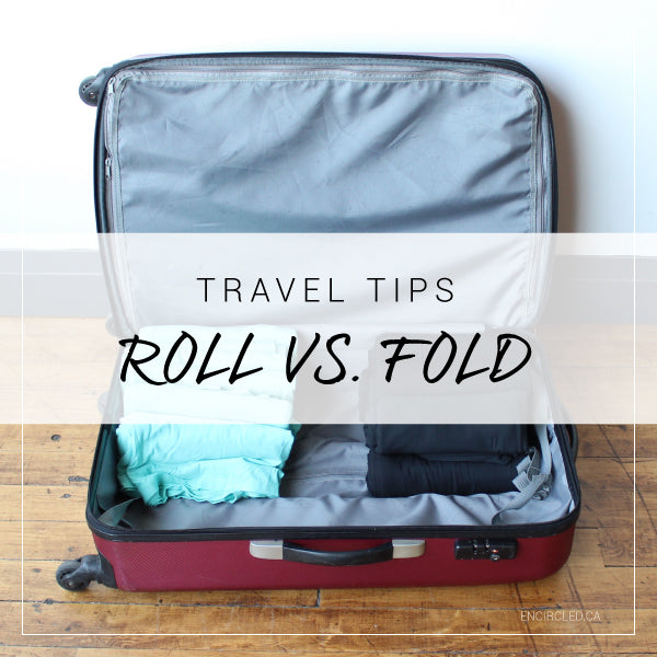 travel tips roll vs fold clothing