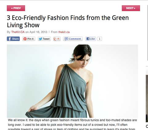 eco friendly fashion finds from the kit.ca chrysalis cardi green living show encircled