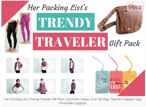 Herpackinglist.com Trendy Travellers Gift Pack Encircled Chrysalis Cardi
